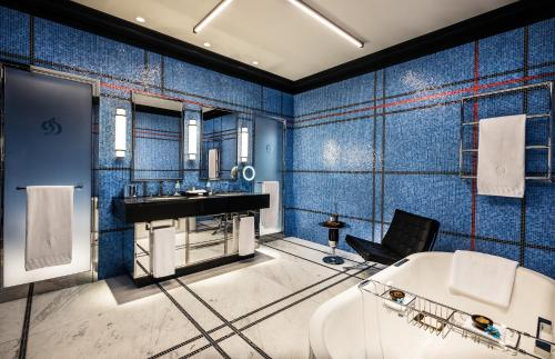 حمام في Dinamo Hotel Baku - Adult Only