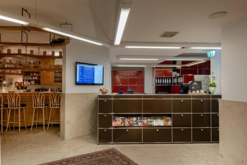 The lobby or reception area at Hotel Europa