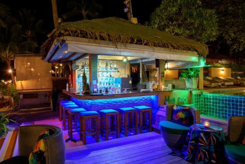 Lounge oder Bar in der Unterkunft Samui Jasmine Resort