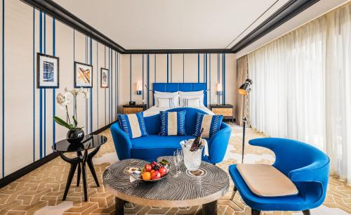 منطقة جلوس في Dinamo Hotel Baku - Adult Only