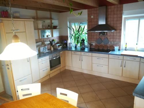 Küche/Küchenzeile in der Unterkunft Appartement Lardenbach