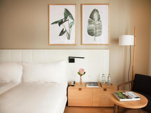 Een zitgedeelte bij Hotel Arima & Spa - Small Luxury Hotels