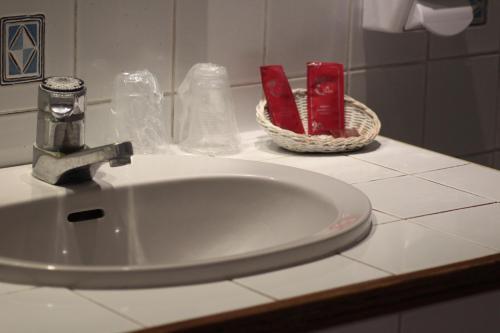 Salle de bains dans l'établissement Albert 1er