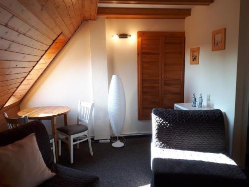 Ein Badezimmer in der Unterkunft Landhaus Levitzow