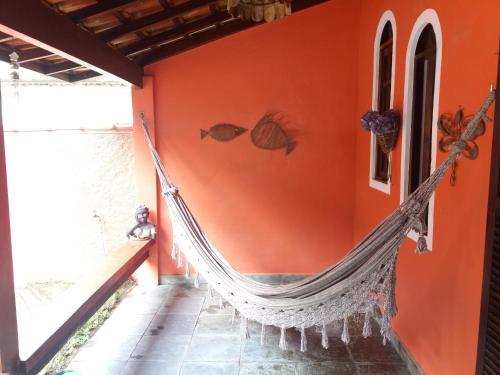 A balcony or terrace at Social Ilha Grande Hostel
