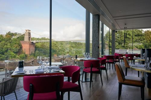 A restaurant or other place to eat at Avon Gorge by Hotel du Vin