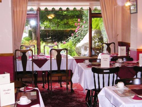 Restaurant ou autre lieu de restauration dans l'établissement Mountain View Guesthouse