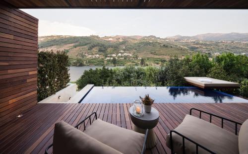 The swimming pool at or close to Quinta de S.Bernardo - Winery & Farmhouse