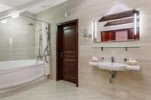 Ванная комната в Отель Южная Башня