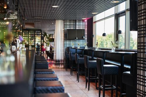 Een restaurant of ander eetgelegenheid bij WestCord Fashion Hotel Amsterdam