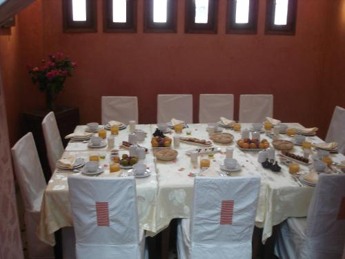 Banquet facilities at the bed & breakfast