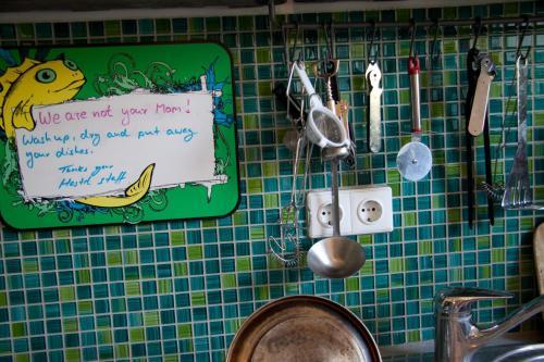 Ein Badezimmer in der Unterkunft Babelfish Hostel