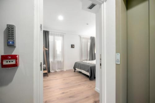 Posteľ alebo postele v izbe v ubytovaní 32 de Agosto rooms by SanSebastianForYou