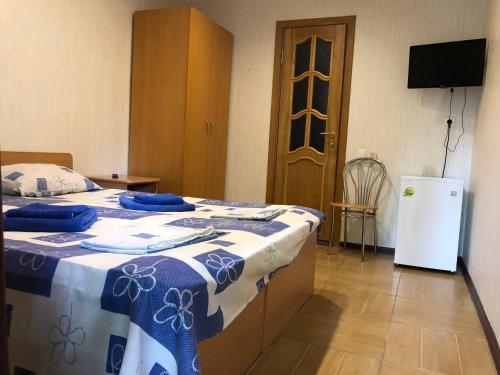 Кровать или кровати в номере Бутик Отель Антре