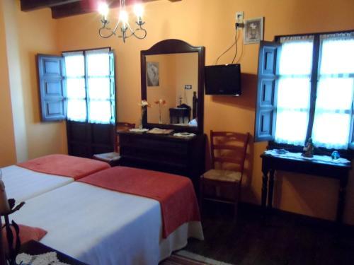 Cama o camas de una habitación en Casa El Campu