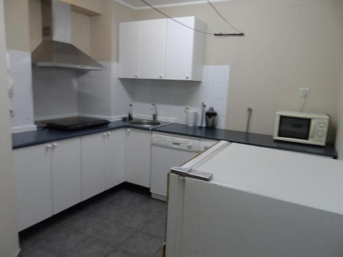 Una cocina o zona de cocina en Casa El Campu