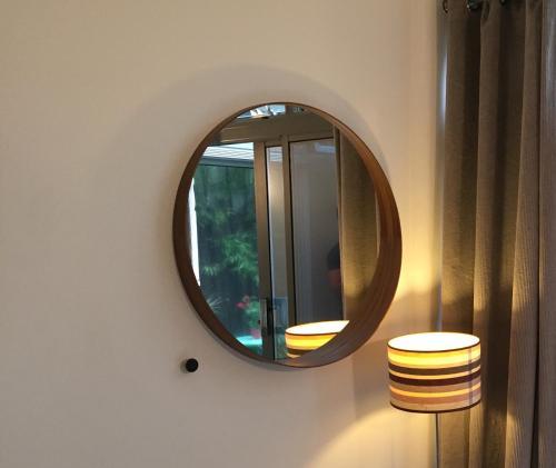 Ett badrum på The Luxury Inn