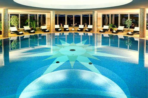 The swimming pool at or near Grand hotel Starý Smokovec