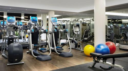 The fitness center and/or fitness facilities at Ham Yard Hotel, Firmdale Hotels