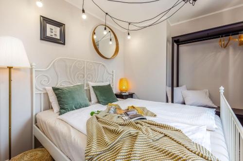 A bed or beds in a room at Casa San Vito