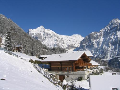 Chalet Heimat - GRIWA RENT AG during the winter