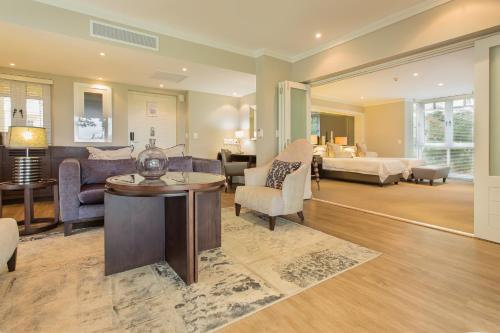 The lobby or reception area at Fancourt Hotel