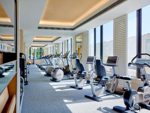 The fitness center and/or fitness facilities at The Royal Garden