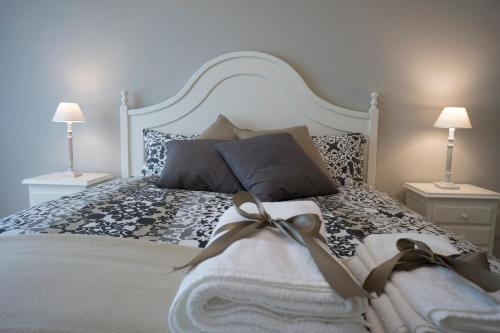 A bed or beds in a room at B&B Donna Ada