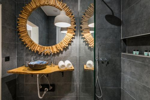 A bathroom at 19 Tile Ceramic Boutique House