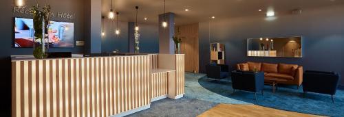 The lobby or reception area at Grand Hôtel Du Casino De Dieppe