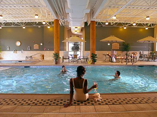 The swimming pool at or near Little Creek Casino Resort