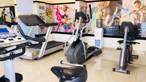 Gimnasio o equipamiento deportivo en ILLIA 121 APART HOTEL