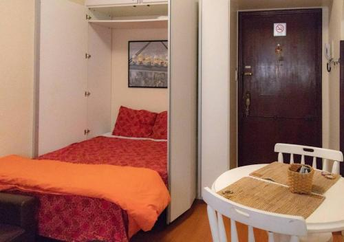 A bed or beds in a room at Imperatriz 34