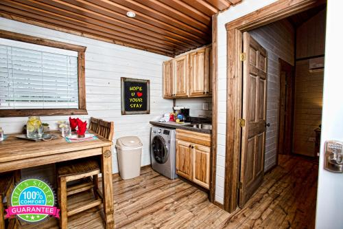 A kitchen or kitchenette at Life's Suites