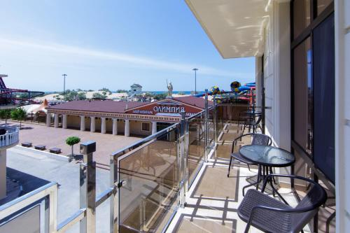 A balcony or terrace at Hotel Coral