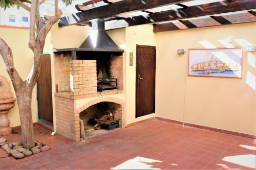 Attrezzature per barbecue disponibili per gli ospiti dell'appartamento