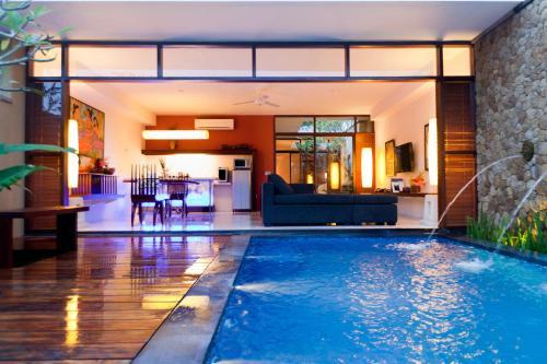 The swimming pool at or near Ubud Green Resort Villas