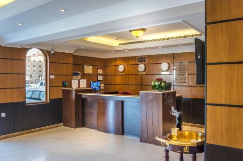 O saguão ou recepção de Al Muhaidb Al Hamra - Jeddah