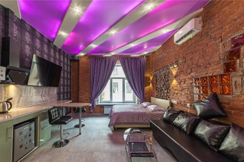 Гостиная зона в Apartments on Nevsky 23