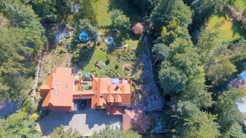 Widok z lotu ptaka na obiekt Dom Natury
