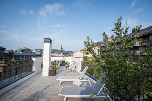 Un balcón o terraza de Hotel Villa Victoria By Intur