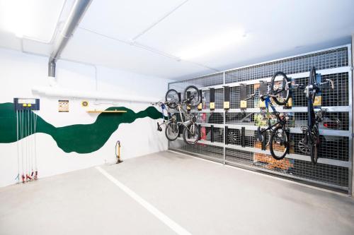 Gimnasio o instalaciones de fitness de SOMMOS Hotel Aneto