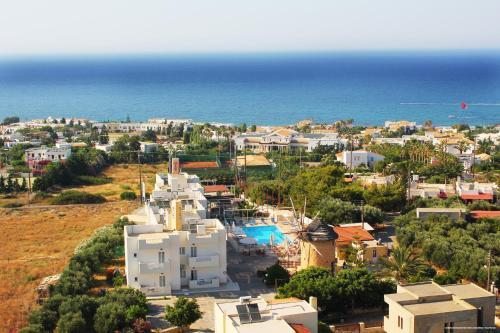 Άποψη από ψηλά του Mylos Apartments ''By Checkin''