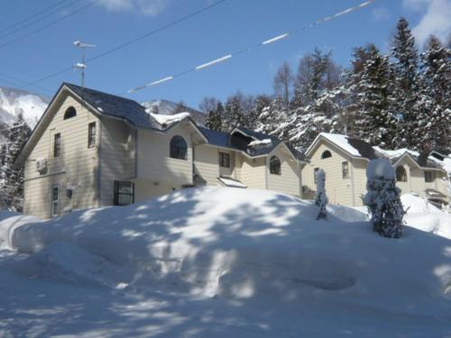 Hakuba Royal Suites during the winter
