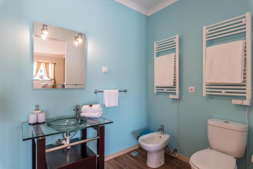 A bathroom at Quinta da Paz B&B