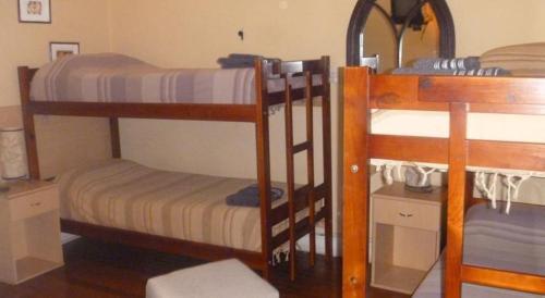 A bunk bed or bunk beds in a room at LGY G A Y Bed & Breakfast ONLY MEN