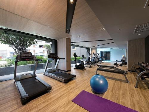 Palestra o centro fitness di ibis Styles Bangkok Sukhumvit 4