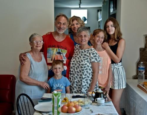 Famiglia che soggiorna presso Sentieri Luminosi