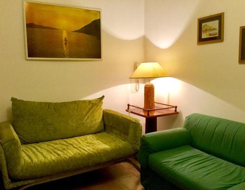 Area soggiorno di Appartamento Taormina Mare