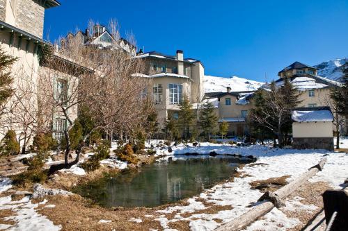 Hotel Apartamentos Trevenque en invierno